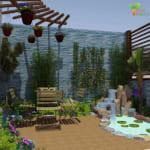 Thiết Kế Thi Công Sân Vườn Biệt Thự Tại Bán Đảo Linh Đàm